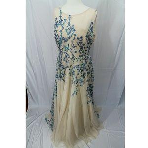 NICOLE MILLER Full Length Dress
